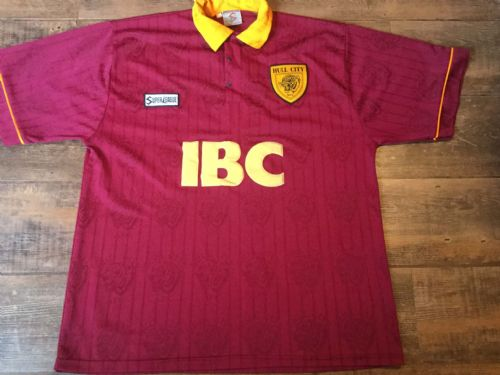 1995 1997 Hull City Away Football Shirt Adults XL